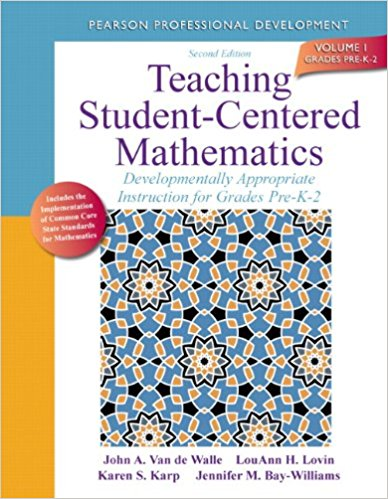 Elementary and middle school mathematics teaching developmentally teaching student centered mathematics developmentally appropriate instruction for grades pre k 2 fandeluxe Image collections