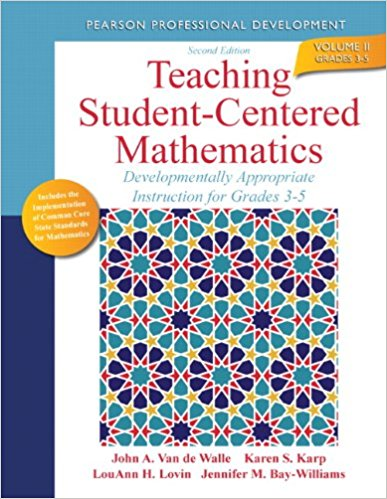 Elementary and middle school mathematics teaching developmentally teaching student centered mathematics developmentally appropriate instruction for grades 3 5 fandeluxe Image collections