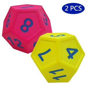 Large Foam Dice Mathodology