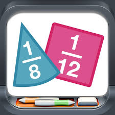 Fraction Manipulative App and Apps Sarah uses at Mathodology