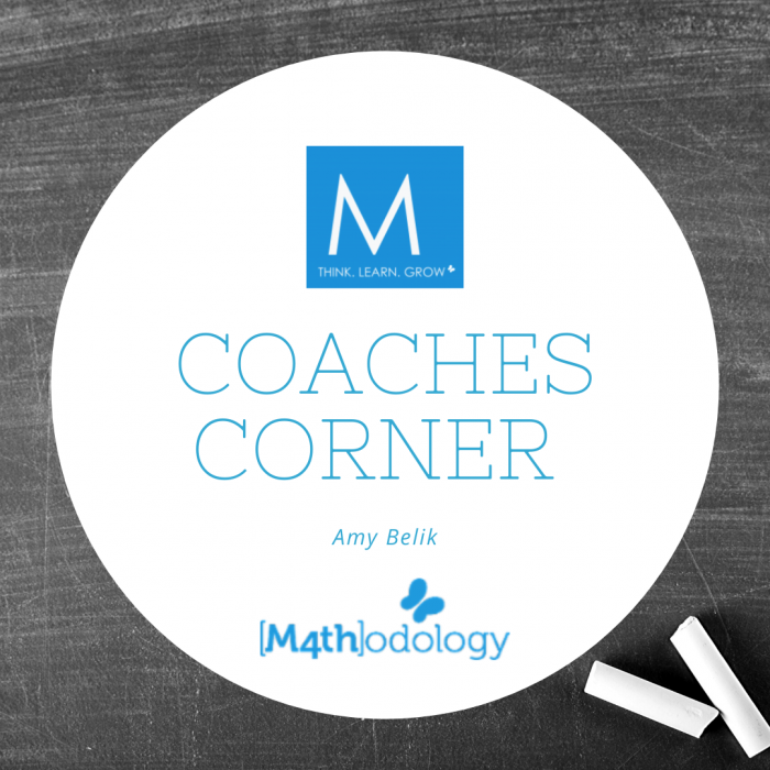 Coaches Corner with Amy Belik mathodology